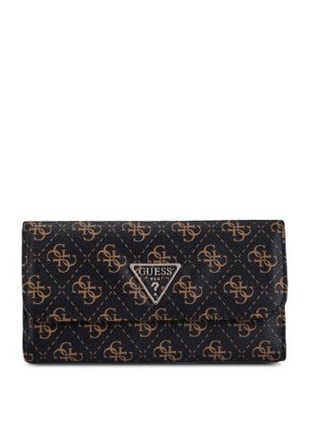 Guess brown Noelle Multi Clutch Wallet C5246AC9681E28GS_1