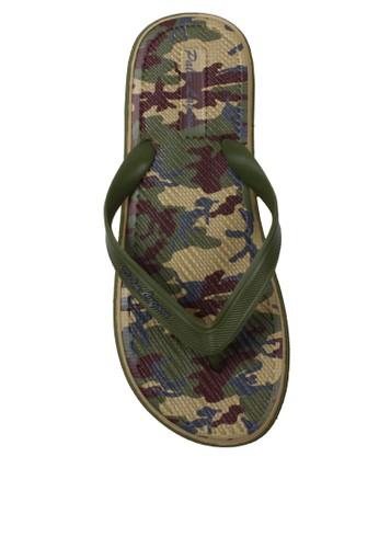 Palm Lagoon brown Sandal & Flip Flop Army Brown BCF9FSHDDC721DGS_1