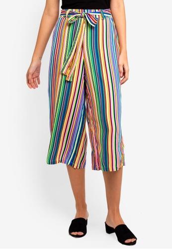 Supre multi Crop Tie Waist Pants 2875EAAE3834C5GS_1