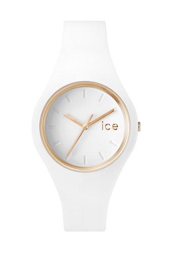 Ice Glam 矽膠中性圓錶esprit tw, 錶類, 飾品配件