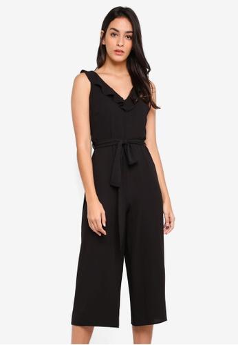 b1df347011 Buy Dorothy Perkins Ruffle Strap Culotte Jumpsuit Online on ZALORA ...