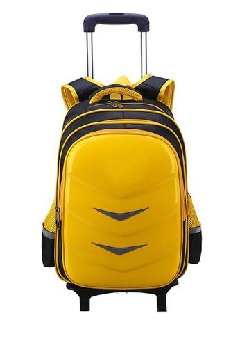 Twenty Eight Shoes yellow VANSA Nylon Cart Backpacks VAK-Bp88192 485F3KCECE68BBGS_1