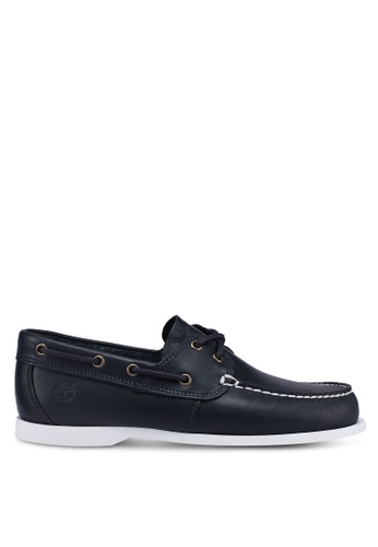 Timberland navy Cedar Bay Boat Shoes 96DCDSHB46C873GS_1