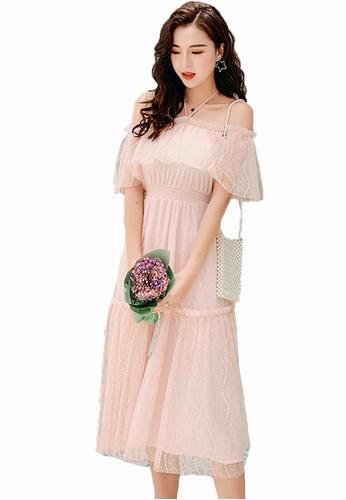 Lace Off Shoulder Dress