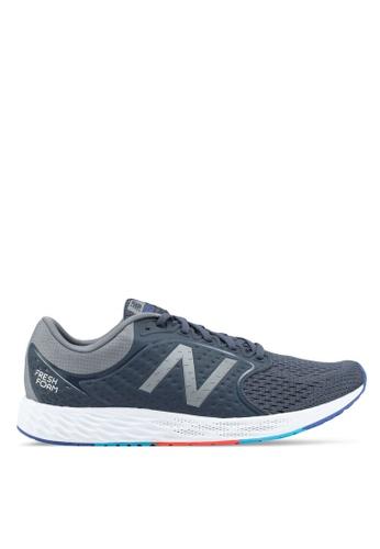 New Balance grey ZANT Fresh Foam Performance Running Shoes NE323SH0SXMYMY_1