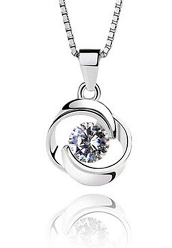 LYCKA silver LPP88034 S925 Silver Necklace 0D016ACFFBF00BGS_1
