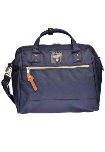 Anello navy anello Polyester Shoulder Bag D3C2BAC0F8A88DGS_1