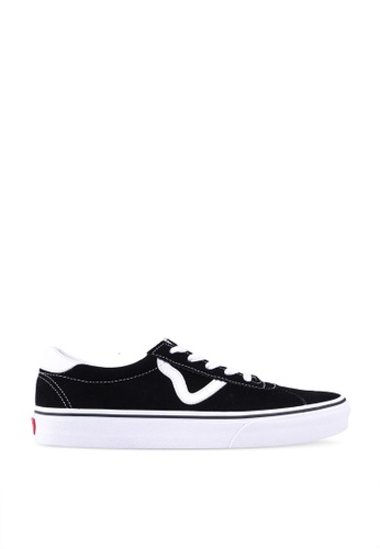 VANS black VANS Sport Suede Sneakers BBB01SH165FAF1GS_1
