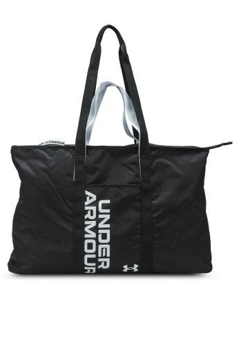 Under Armour black UA Favorite Metallic Tote Bag 04BBBAC117DEAFGS_1