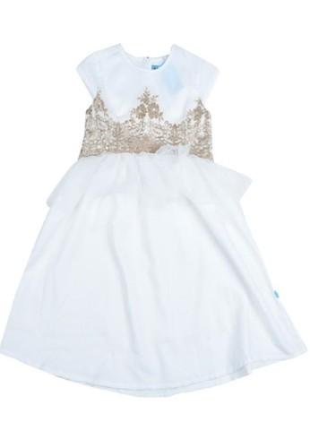 Versail white Versail Junior Dress Brukat Full Tile CF948KA51411CDGS_1