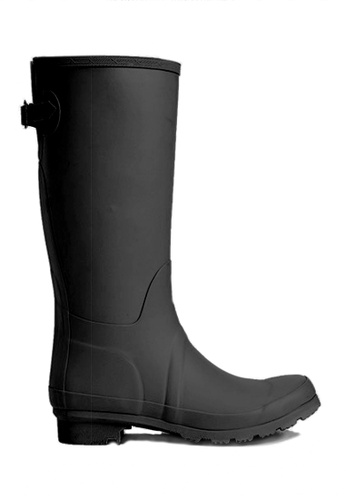 Twenty Eight Shoes black Natural Rubber Rain Boots 12049 BDD04SH0B36A17GS_1