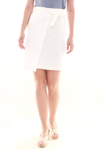 JOVET white Wrap Skirt 3B121AA111A987GS_1