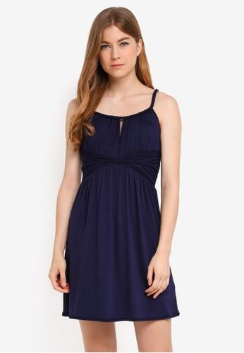 aa1f78b14458 Max Studio navy Knit Dress BF8E4AAA565E10GS 1
