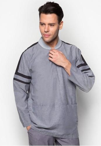奢華運動風長袖上衣, esprit 價位服飾, 男性服飾