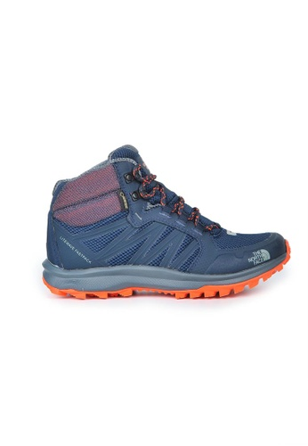The North Face navy TNF W LITEWAVE FASTPACK MID GTX URBNVY/NSTMORG TH879SH0GHDHSG_1
