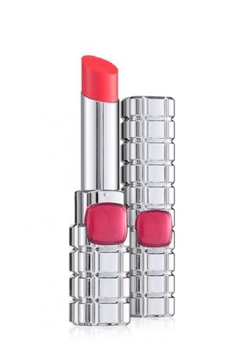 L'Oréal Paris red L'Oreal Paris Color Riche Shine Lip Stick 917 Lucky Melon CD26FBE9B6EEFFGS_1