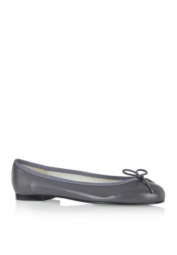 Covet grey French Sole Henrietta Ballet Flats CO331SH26YDXPH_1