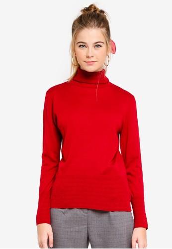 ESPRIT red Long Sleeve Jumper 409C5AA8790B55GS_1