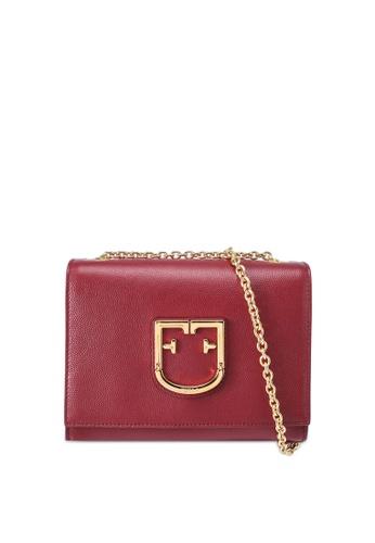 Furla red Viva Mini Pochette Crossbody Bag 5FD86AC7974C40GS_1