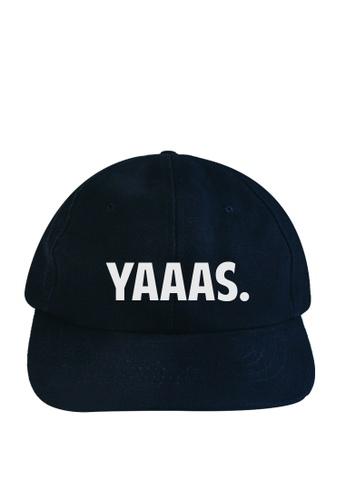 HYPE MNL blue Yaaas Baseball Cap 4E038AC887956BGS_1