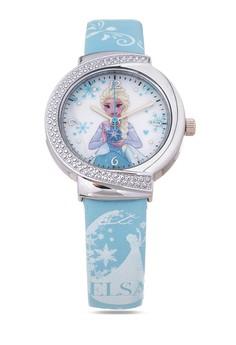 Disney Frozen Leather Strap Analog Watch