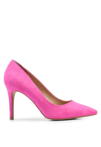 1d5142816b3 Wide Pink Danielle Court Heels