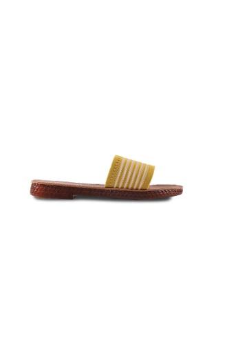 Alfio Raldo yellow Alfio Raldo Striped Flip Flop 95A45SH89A85E1GS_1