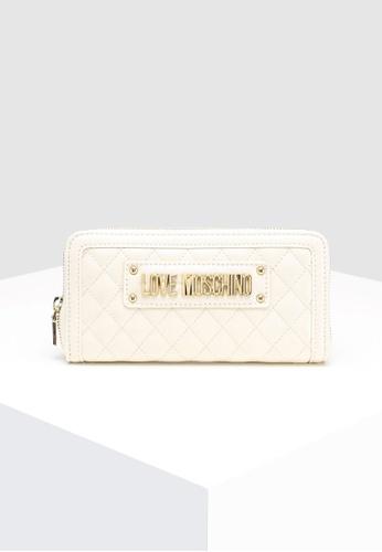 392c5943ab77 Buy Love Moschino Quilted Zip Around Wallet | ZALORA HK