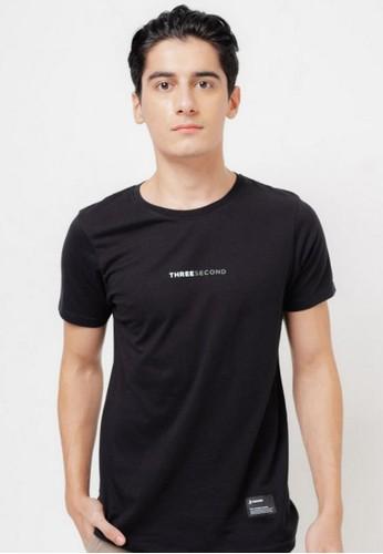 3SECOND black Men Tshirt 650121 FB893AA67C3924GS_1