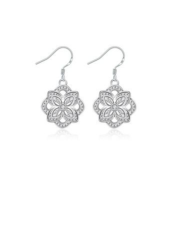 Glamorousky silver Elegant Pattern Earrings 6D692AC893E223GS_1