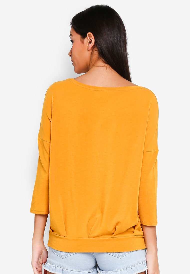 4 Mineral 3 Top Pleated Yellow ONLY Mida FqvwxBg7wn