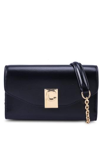 Celine black Pochette Donna iPhone Sling Bag (oc) DC586ACDA00CBBGS_1