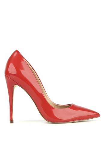 Betts red Blossom Patent Stiletto Heels 0D476SHE091212GS_1