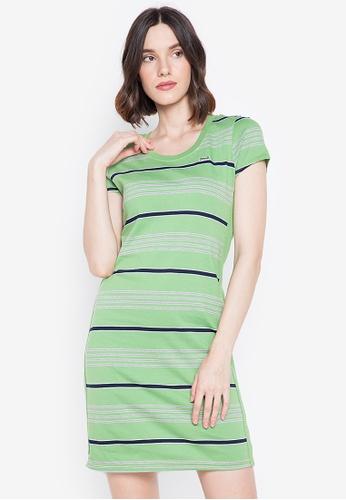 Le Tigre green Le Tigre Dress 75843AA9D27CAFGS_1