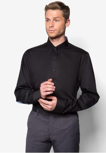 經典棉zalora時尚購物網評價質長袖襯衫, 服飾, 襯衫