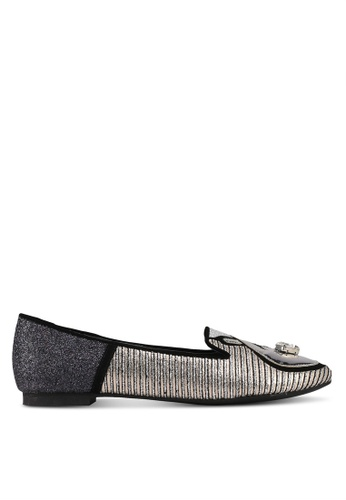 House of Avenues silver All You Need Is Love Hand Loafers 06C42SHBE60DA9GS_1