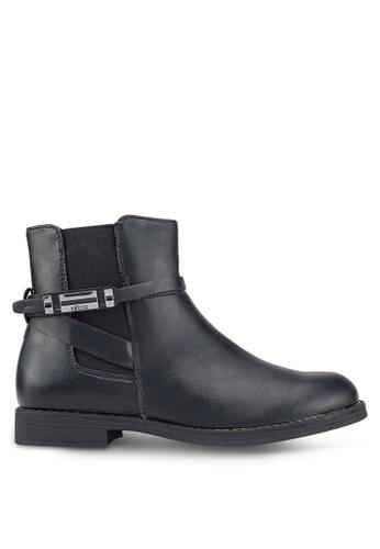 Keddo black Carrie Buckle Boots A0E62SH0C88882GS_1