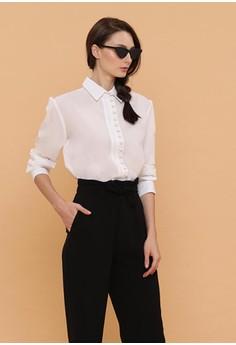 8e22b9374b7610 Wearstatuquo black Victorian Long Sleeve Shirt 54C90AAB3ADAF4GS 1