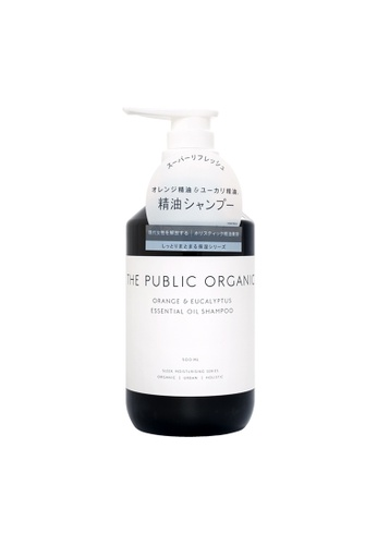 THE PUBLIC ORGANIC THE PUBLIC ORGANIC Super Refresh Orange & Eucalyptus Essential Oil Shampoo 500ml (TPO-001) 4803BBE57998EEGS_1