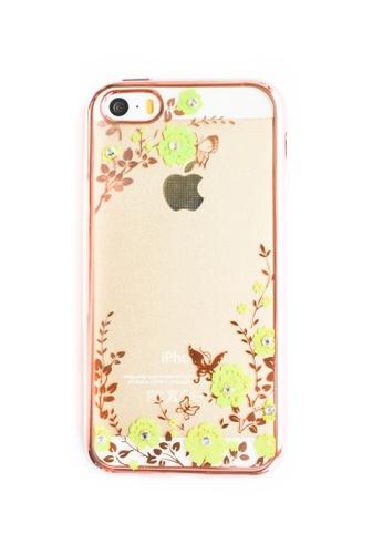 Fancy Cellphone Cases multi Garden Soft Transparent Case for iPhone 5/5s/SE  FA644AC78QWRPH_1