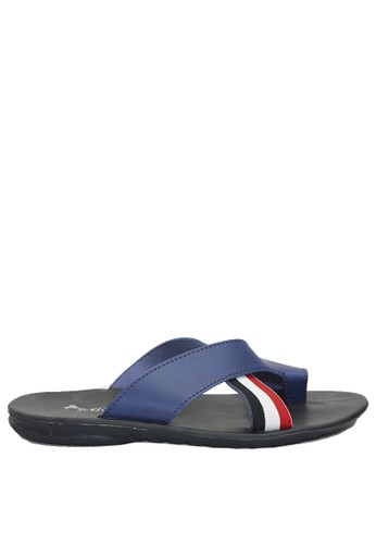 Dr. Kevin blue Dr. Kevin Men Sandals 97216 - Biru F1D3BSH07E6BCAGS_1