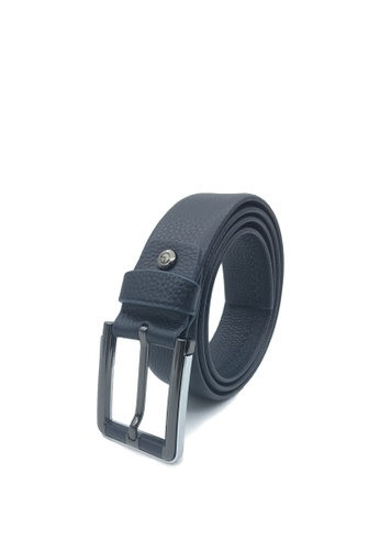 Goldlion blue Casual Pin Belt with Square Buckle-A 36134ACC37121BGS_1