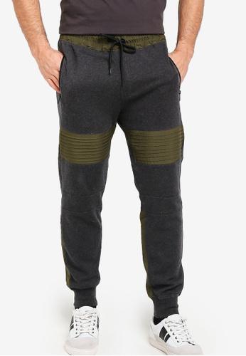 36f458f424d3d Guess black Guess Color Block Slim-Fit Pintuck Jogger Pants  0B8A0AA3C0BF37GS 1