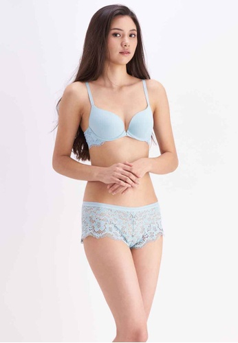 Her Own Words green Classic Demi Bra EA7E3US20DC4A5GS_1
