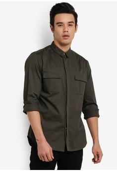 【ZALORA】 Military 襯衫