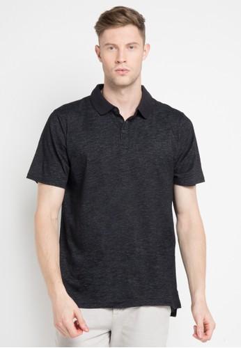 hurley black Dri-Fit Lagos Polo Shirt 0EDE9AA70B4CCFGS_1