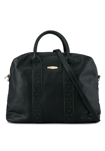 Perllini&Mel black Faux Leather Top Handle Bag PE444AC0SBKYMY_1