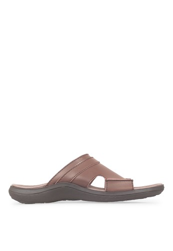 JAVA SEVEN brown JAVA SEVEN Shoes Artdeco Brown Men's Sandal & Flip Flops JA154SH50ILDID_1