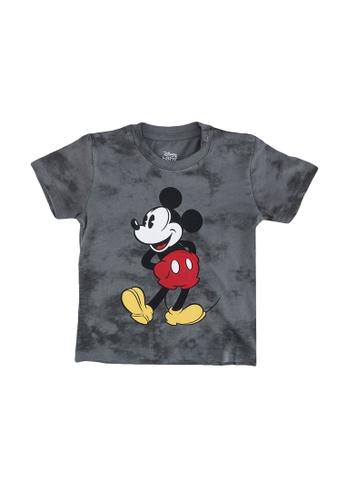 FOX Kids & Baby grey Grey T-Shirt With Mickey Print 4141BKAE172C2AGS_1