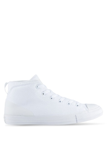 Converse white Chuck Taylor Ctas Syde Street Sneakers Mid CO302SH53UOSMY_1